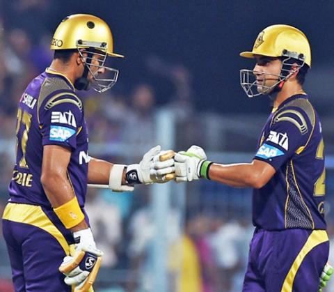 IPL 2017: Uthappa, Gambhir power KKR to thumping win over Pune
