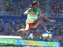 Shoeless runner Diro of Ethiopia makes heroine in Olympic steeplechase