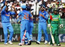 ICC World Twenty20: India win cliffhanger against Bangladesh on Holi eve