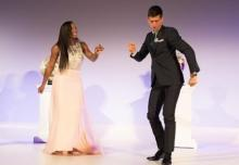 Djokovic, Serena Williams take top honours at Laureus awards