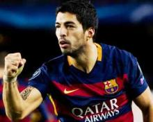 Suarez's brace inspires Barca to 2-1 rout of Atletico in CL quarters first leg