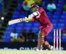 Samuels' 92 powers Windies to four-wicket win over Aussies in tri-series