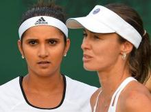 Mirza-Hingis bow out of Rogers Cup in quarters