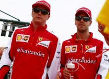 Team Ferrari drivers begin Sochi Grand Prix with new engines