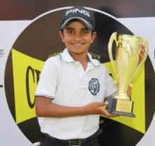 10-year-old son of milkman wins Junior World Golf Championship