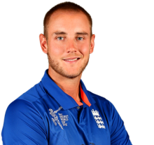 Stuart Broad penalized for `inappropriate` twitter comments