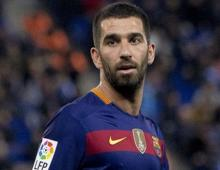 Turan's hat-trick helps Barca end CL group stage with thumping win