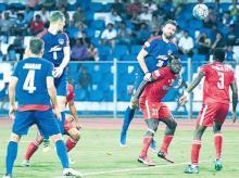 I-League: Bengaluru FC dent Aizawl FC's title hopes with injury-time goal