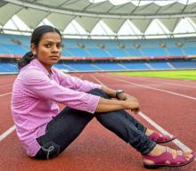 Ace Indian sprinter Dutee Chand