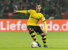 Europa League: Mkhitaryan's away goal helps Man Utd draw 1-1 against Rostov