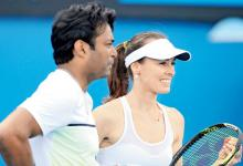 Australian Open: Paes-Hingis stroll into mixed doubles second round