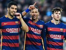 `MSN` trio surpasses 300 goals as Barca edge into Copa del Rey quarters
