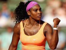 Serena Williams kicks off Australian Open with a bang
