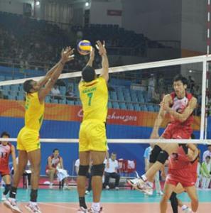 Kazakhstan defeat India in volleyball tourney
