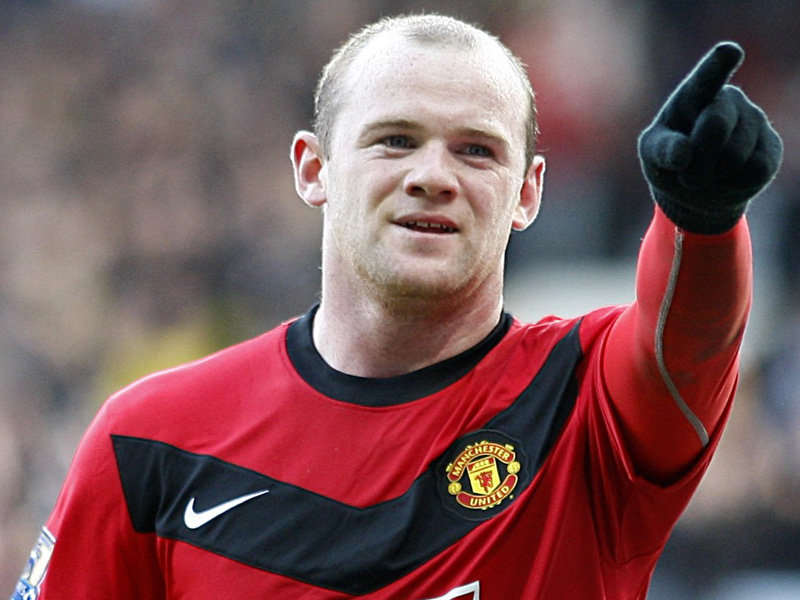 Rooney 'happy' to share Man U's goal-scoring burden with Van Persie