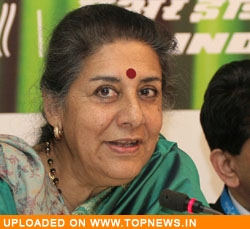 Tourism and Culture Minister Ambika Soni