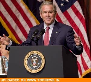 U.S. President George W Bush