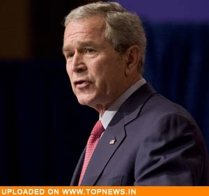 "Bush calls for ""meaningful ceasefire"" in Middle East"