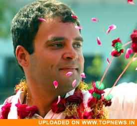 Rahul Gandhi takes on Mayawati Govt. on development schemes