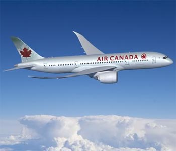 Air Canada posts first profit in four years