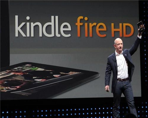 Amazon introduces new Kindle e-reader, HD tablet