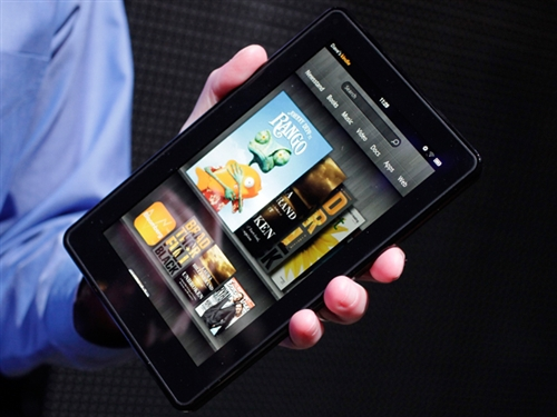 Kindle Fire remains highest selling item on Amazon