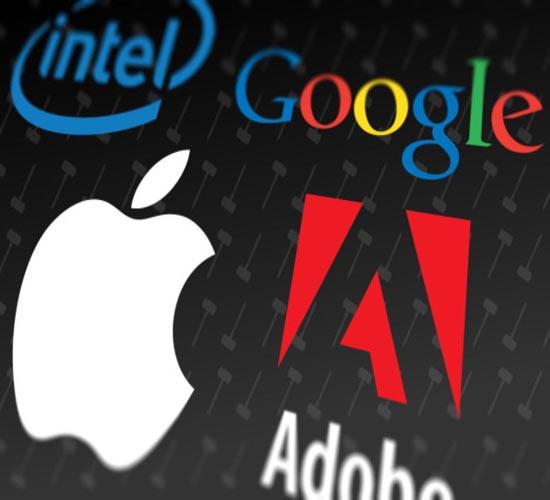 Apple, Google, Intel, Adobe