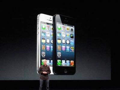 Apple iPhone 5 is slimmer, lighter