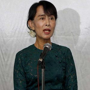 Suu Kyi a global symbol of human rights: UN chief