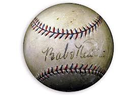 Babe Ruth and Al Capone autographed baseball to go under the hammer