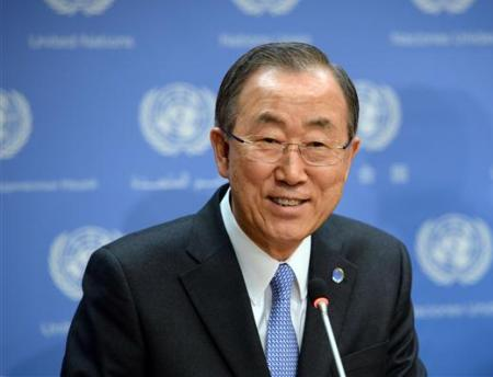 UN Chief urges India, Pak to resolve issues through dialogue