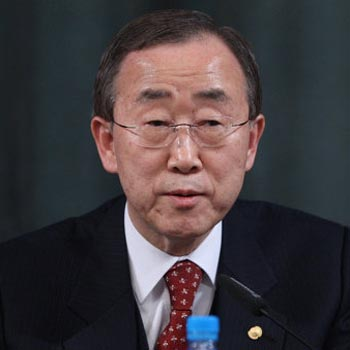 UN chief disappointed with Assad's peace plan