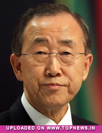 UN chief suffers fracture playing soccer