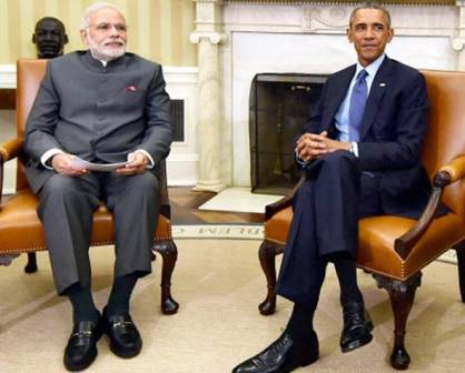 India, US vow to promote 'full implementation' of Paris Agreement