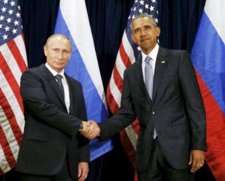 Obama calls up Putin, asks him to stop Russian jets bombing Syria