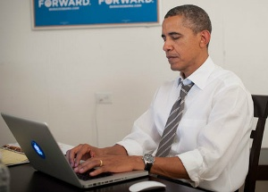 'Four more years': Obama tweets after winning re-election