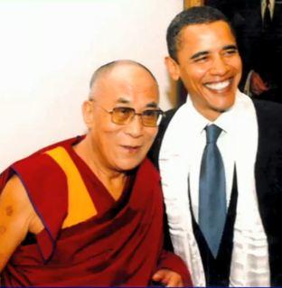 Barack Obama, Dalai Lama