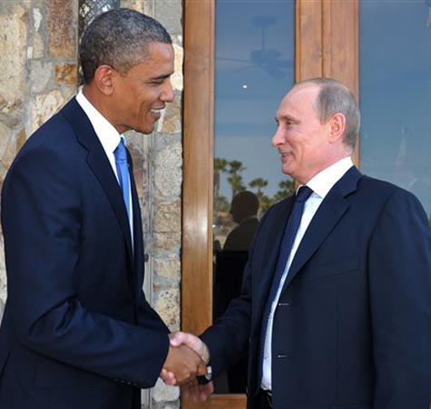 Obama, Putin discuss US sanctions on Russia