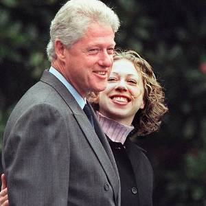 Chelsea Clinton says dad Bill's heart is healthy
