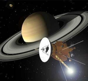 Cassini spacecraft may have documented birth of Saturn's new moon