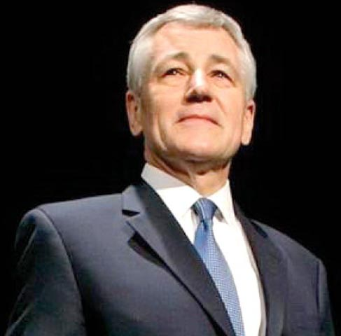 US Defence Secretary Chuck Hagel
