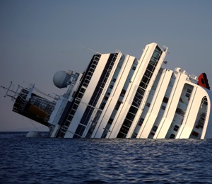Costa Concordia Captain abandoned ship leaving almost 300 people on board