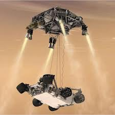 Curiosity finally lands on Mars