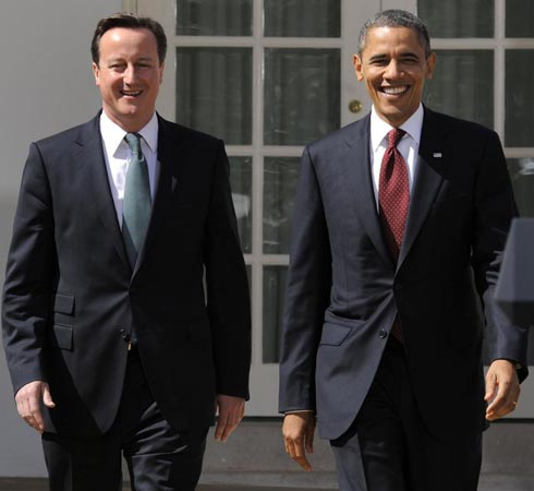 David Cameron arrives in US to discuss IS, counter-terrorism