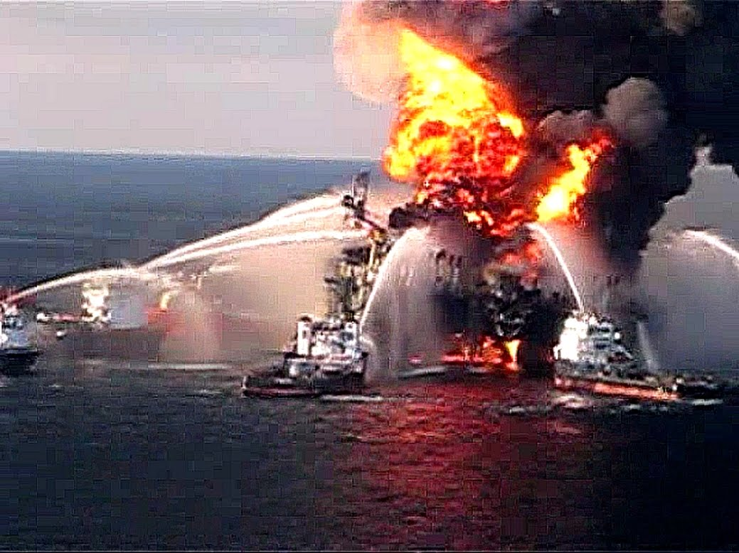BP Praised Halliburton Work on Deepwater Horizon Oil Rig thumbnail