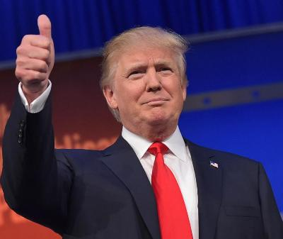 Donald Trump scores a hat-trick in Republican race