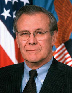 If Gaddafi stays, American enemies will get emboldened: Rumsfeld