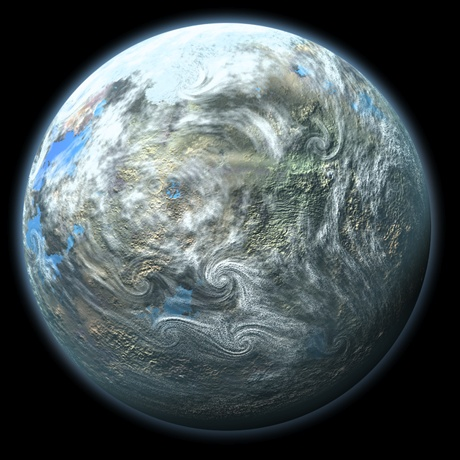Giant earth-like planet at outer edge of our solar system!