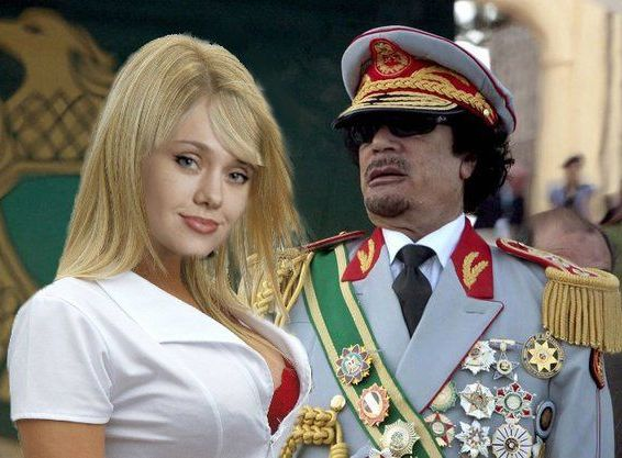 Gaddafi's Ukrainian nurse 'lover' quits New York, Feb 27 : Libyan dictator