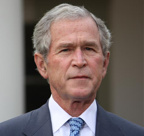 George Bush, Bill Clinton in light-hearted 'war of words' on social media